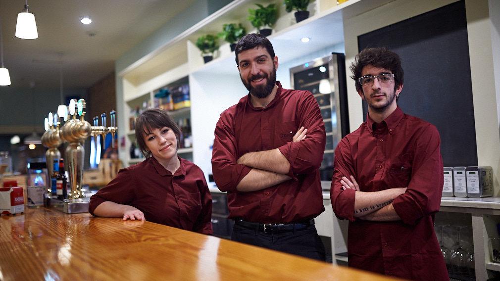 El éxito de La Gardabera, un local de moda en Pamplona