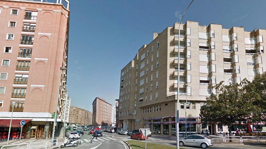 Barrio de Mendebaldea, junto al Complejo Hospitalario de Navarra.