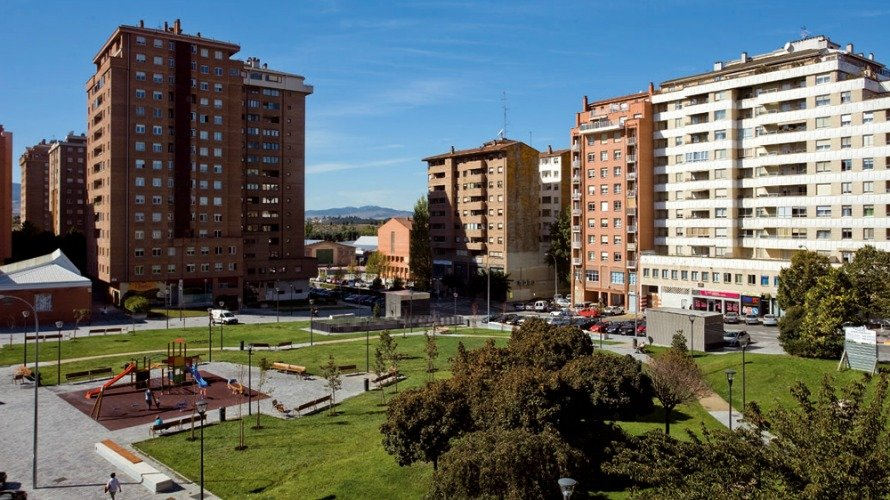 Barrio de Azpilagaña en Pamplona.