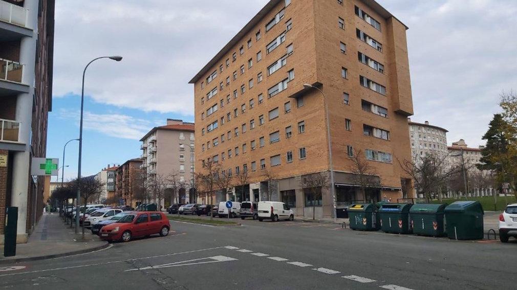 Imagen de archivo del barrio de la Rochapea.