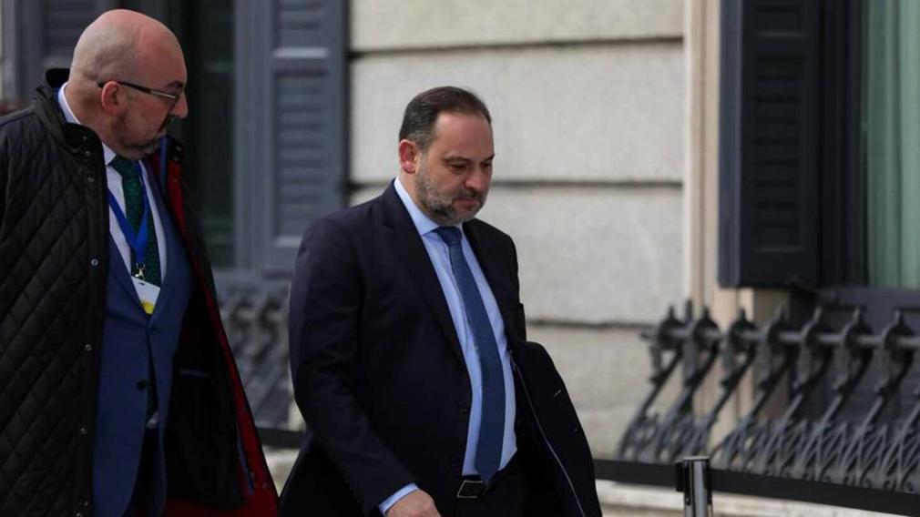 Koldo García y José Luis Ábalos. EUROPA PRESS