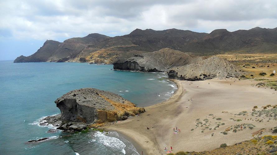 Playas del Cabo de Gata en Almería.