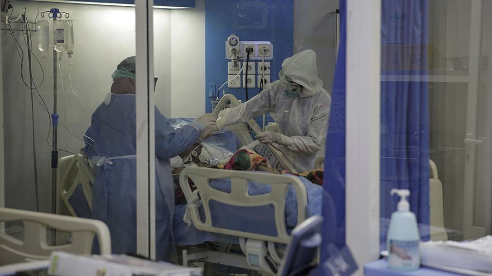 330 nuevos ingresados en los hospitales navarros