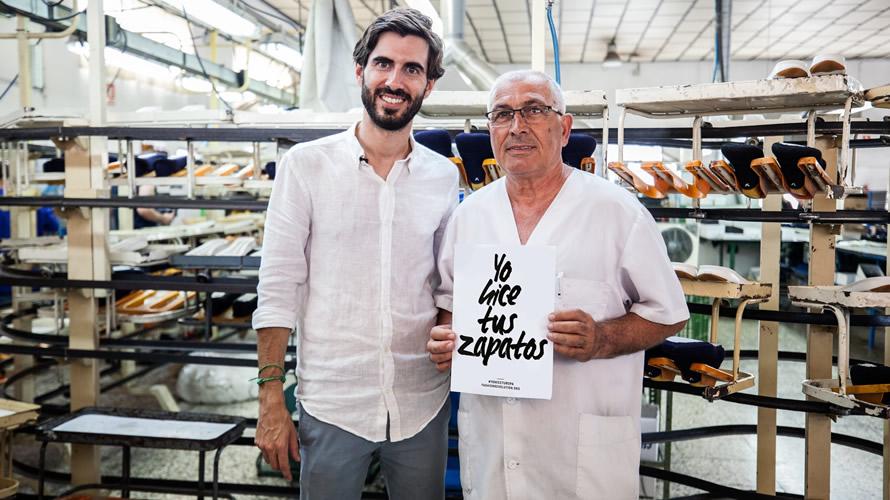 Zapatillas hechas en España en las que intervienen más de 150 personas en la elaboración de cada YUCCS.