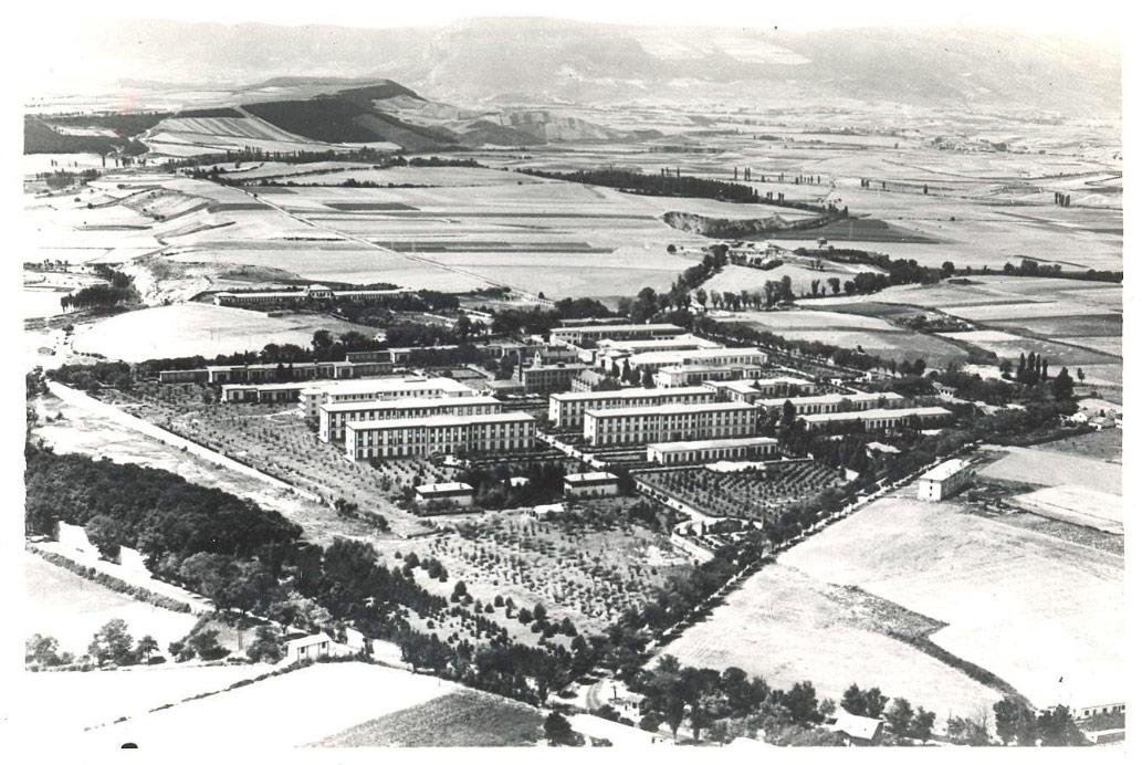 (1930) Vista aérea del Hospital Provincial.