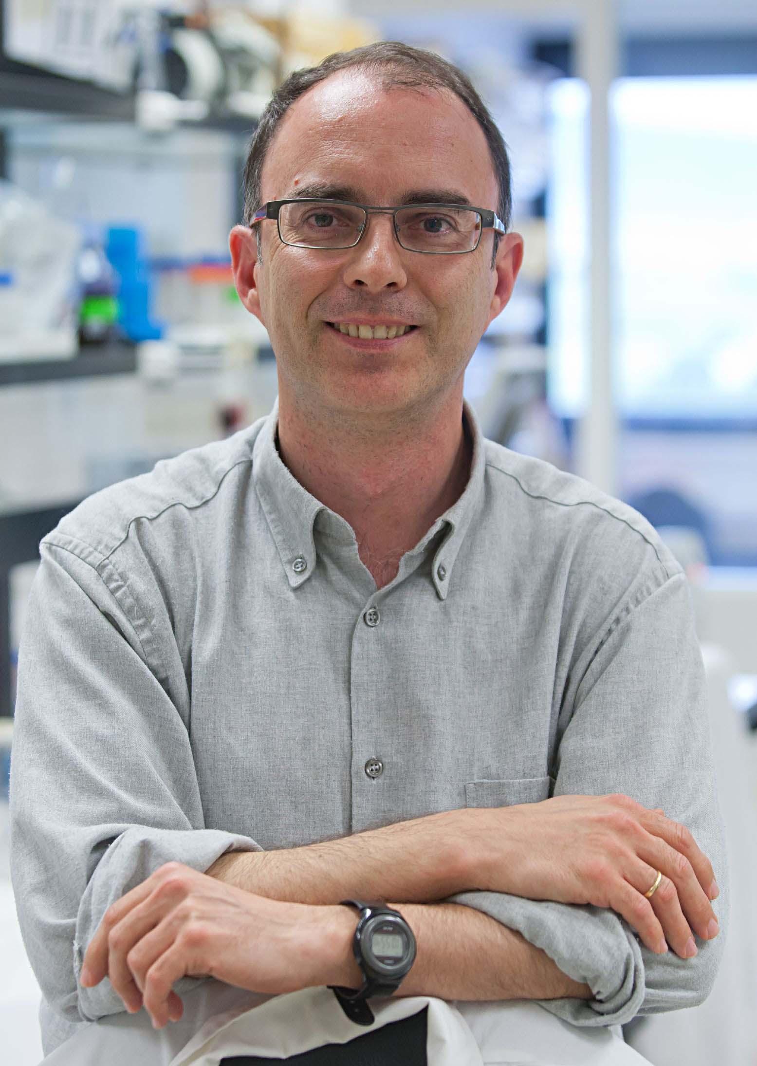 Dr. Rubén Hernández, investigador del Programa de Terapia Génica y Regulación de la Expresión Génica del Cima.
