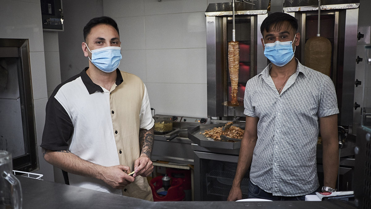 Ali Rahza y Nahim Rahza regentan el Luka 2, que tiene en su sótano Pk2 Vic Diskotec.