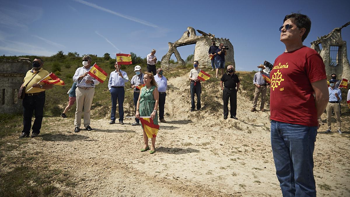 Vox celebra un acto con motivo del 500 aniversario de la Batalla de Noáin. PABLO LASAOSA