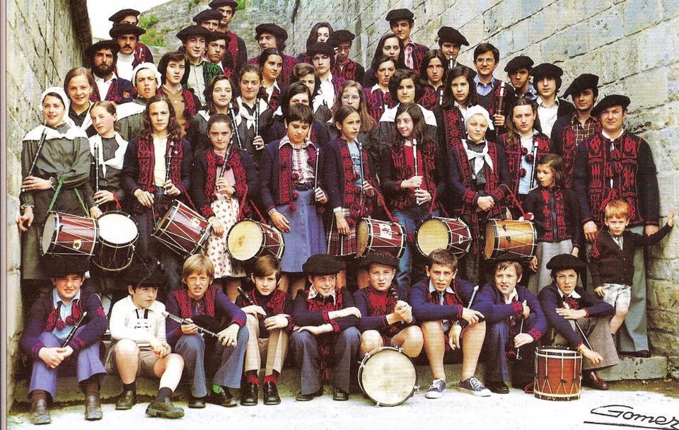 Escuela de txistu de Oberena. IMAGEN DE ARCHIVO