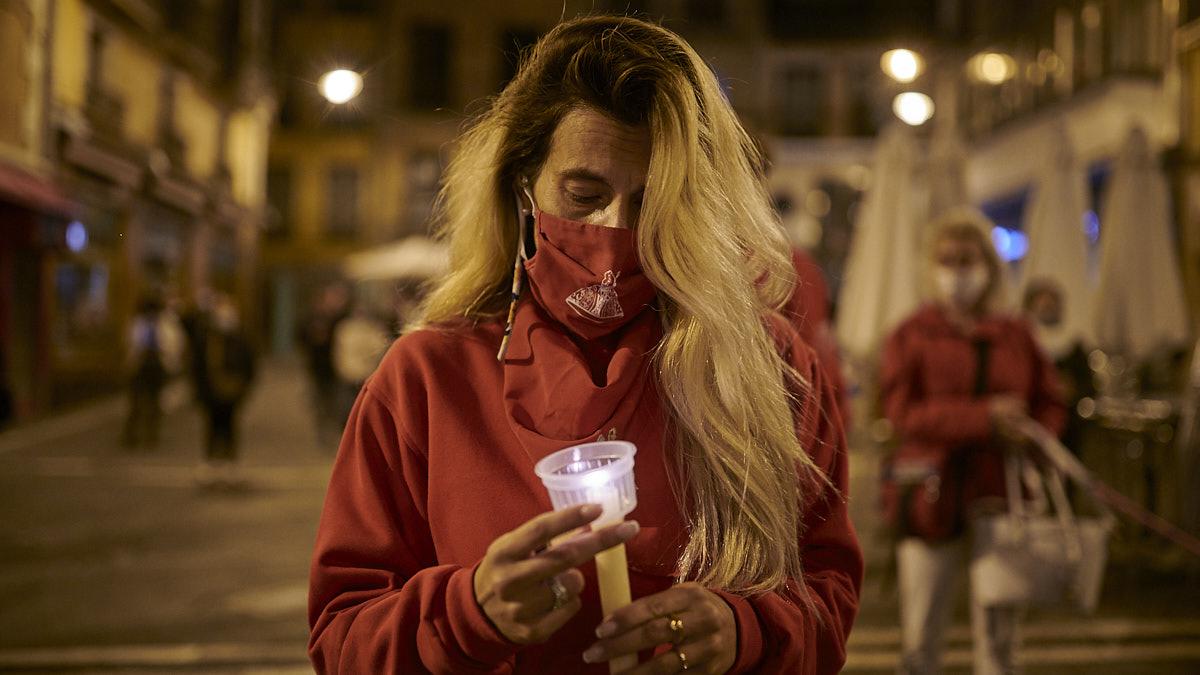 Pamplona dice adiós a sus segundos no Sanfermines: solitario y sentido Pobre de Mí