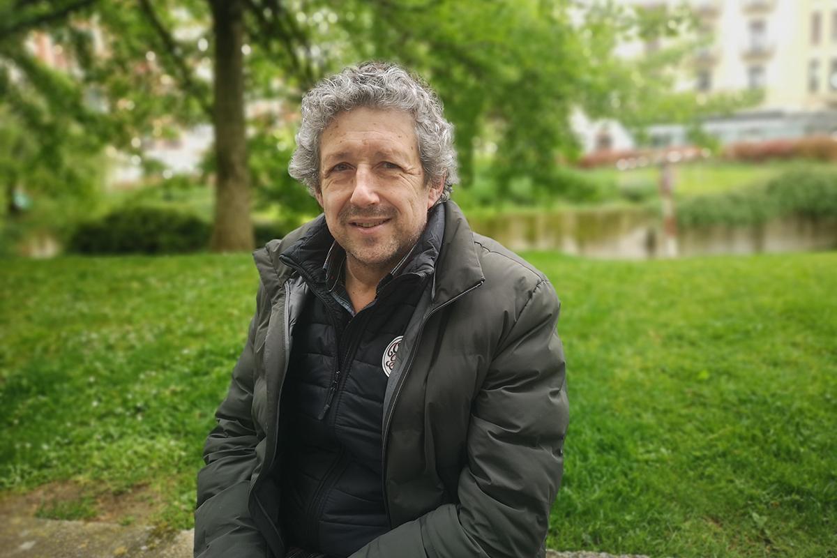 Juan Carlos Oroz, portavoz de la Asociación Navarra de Pequeñas Empresas de Hostelería. ANAPEH