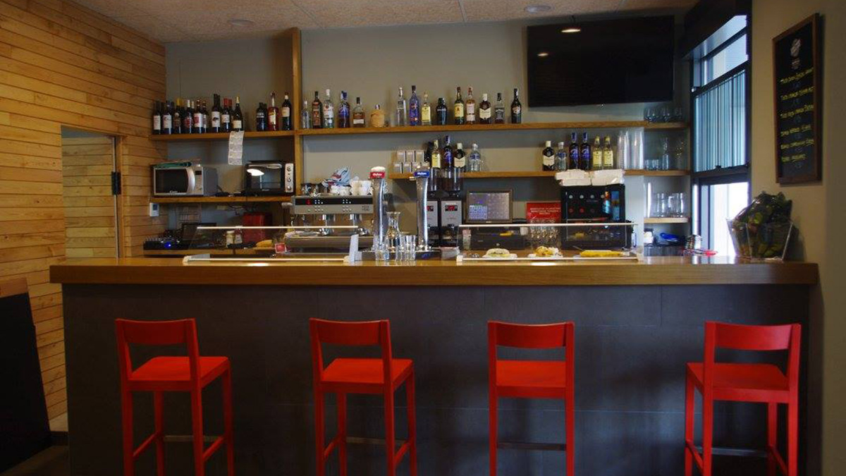 Barra del bar Groutxo. GROUTXOBAR