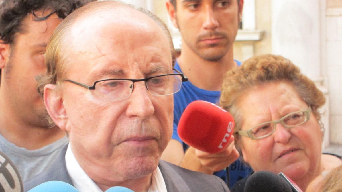 José María Ruiz Mateos en Palma de Mallorca. Europa Press. ARCHIVO